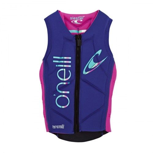 o-neill-body-protection-o-neill-womens-slasher-comp-impact-vest-cobalt-blue-berry